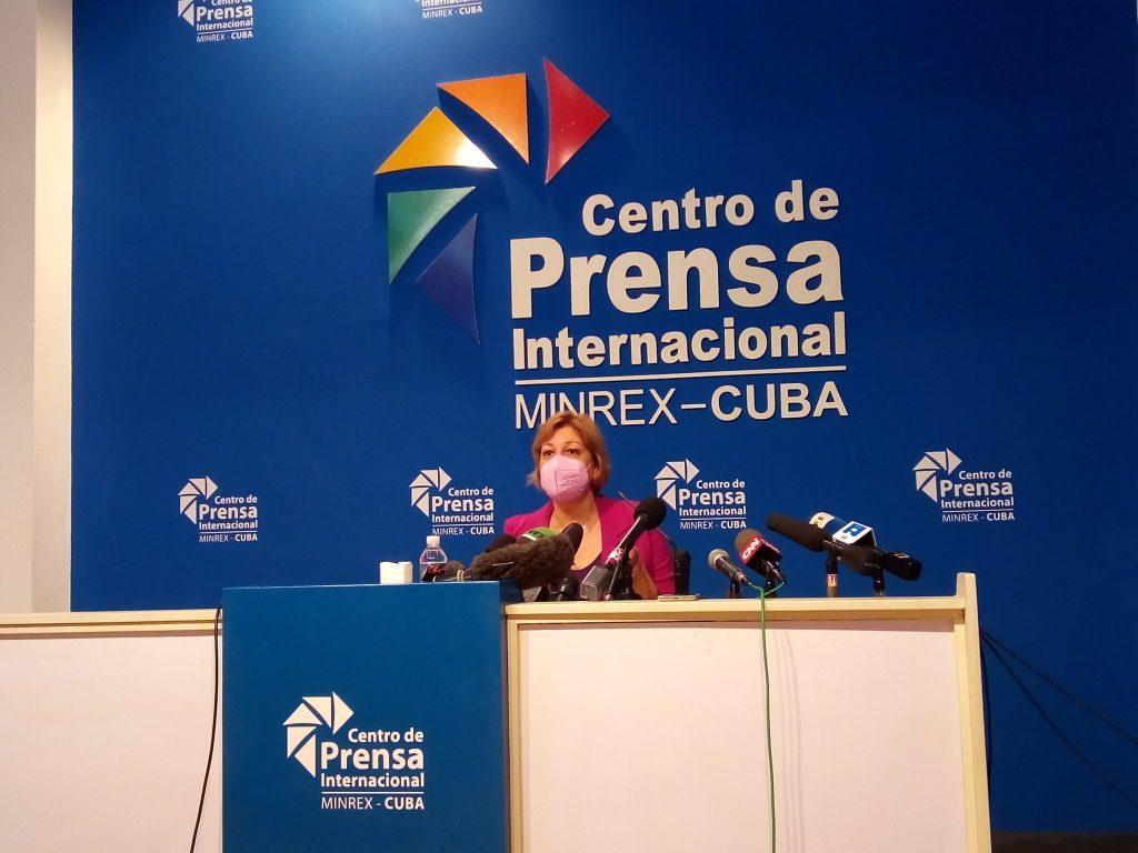 Lilia María Hernández, presidenta de la Organización Nacional de Bufetes Colectivos.