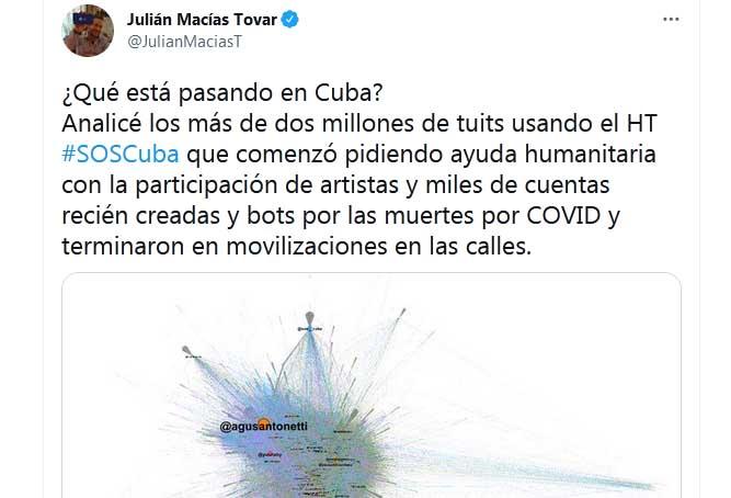 El investigador español Julián Macías Tovar señala como uno de los referentes de la operación al argentino Agustín Antonetti, quien ha sido una activo participante en las campañas en redes sociales contra los procesos de izquierda en América Latina.