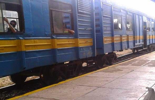 En el tren local está previsto la evacuación de la población de las localidades aguas debajo de la presa Zaza.
