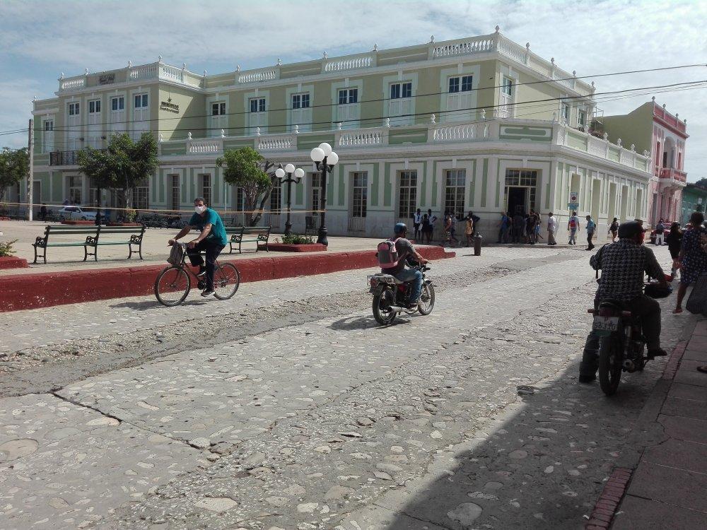 Trinidad resulta uno de los municipios con mayor nivel de incidencia de casos positivos en la provincia. (Foto: Ana Martha Panadés)