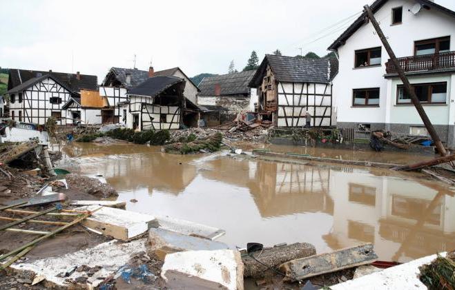 alemania, intensas lluvias, desastres naturales