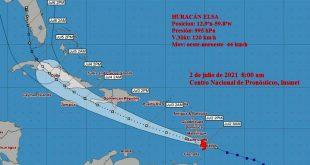 sancti spiritus, meteorologia, tormenta tropical elsa, ciclon, insmet