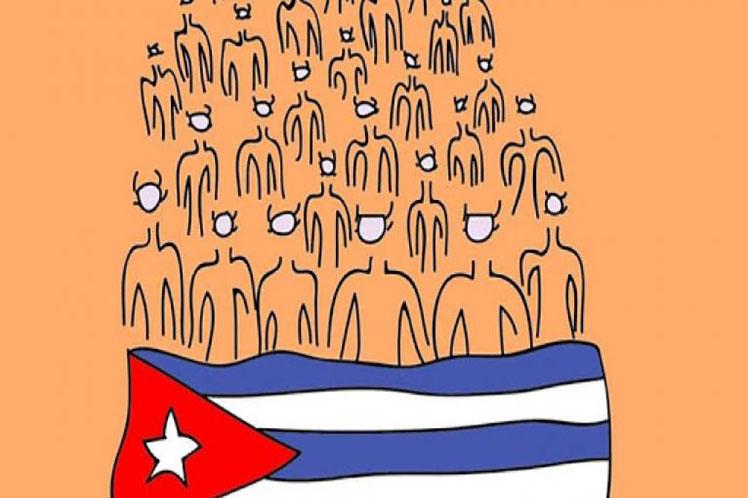 La cancillería cubana ratificó que quienes lo deseen pueden ser partícipes de las acciones de los movimientos de solidaridad a nivel internacional. (Imagen: PL)
