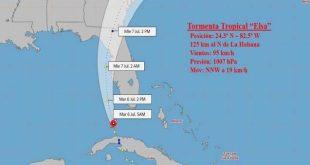 cuba, meteorologia, elsa, tormenta tropical elsa, defensa civil,