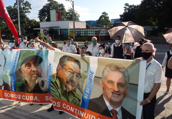 sancti spiritus, etecsa, revolucion cubana, miguel diaz-canel, subversion contra cuba, mfia nticubana, contrarrevolucion, guerra no convencional, campañas mediaticas, bloqueo de eeuu a cuba