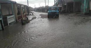 sancti spiritus, lluvias en sancti spiritus, elsa, tormenta tropical elsa, viviendas, direccion provincial de la vivienda