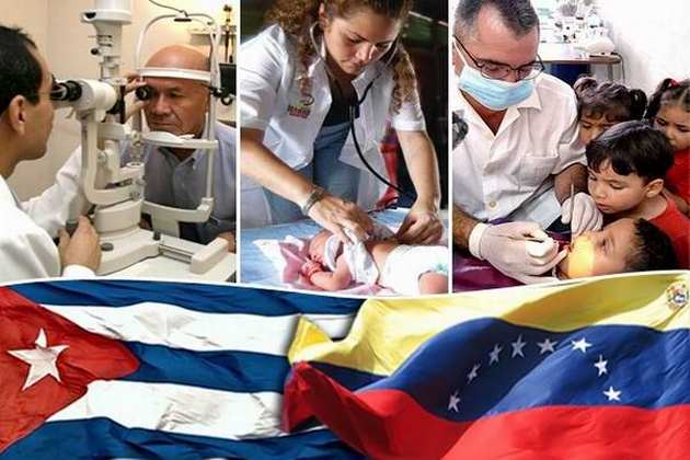 Arreaza cuestionó la obsesión de la derecha venezolana contra la colaboración cubana. (Foto: CMHW)