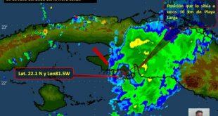 cuba, elsa, tormenta tropical elsa, lluvias, lluvias en sancti spiritus, matanzas, defensa civil, consejo de defensa