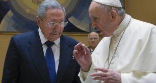 italia, cuba, vaticano, papa francisco, miguel diaz-canel, raul castro