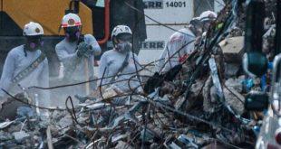 estados unidos, miami, edificio, derrumbe, muertes, bomberos