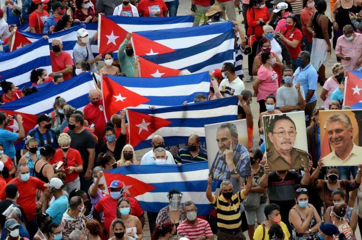 Líderes de América Latina, Europa, y Asia respaldan a la Revolución cubana