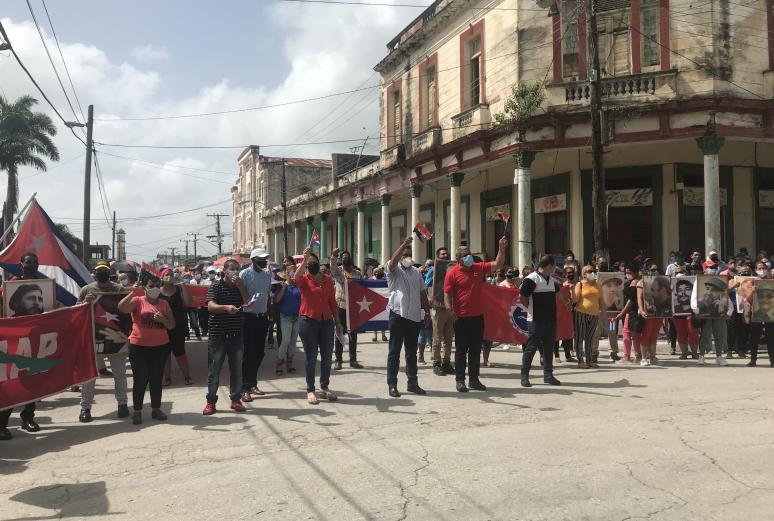 sancti spiritus, cabaiguan, revolucion cubana, miguel diaz-canel, subversion contra cuba, mfia nticubana, contrarrevolucion, guerra no convencional, campañas mediaticas, bloqueo de eeuu a cuba