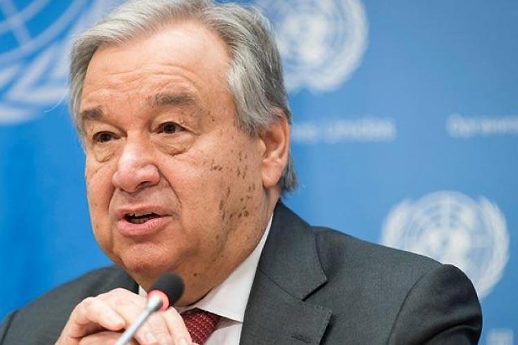 António Guterres considera que para hacer frente a la pandemia es necesario garantizar una distribución equitativa de los inmunizantes. (Foto: PL)
