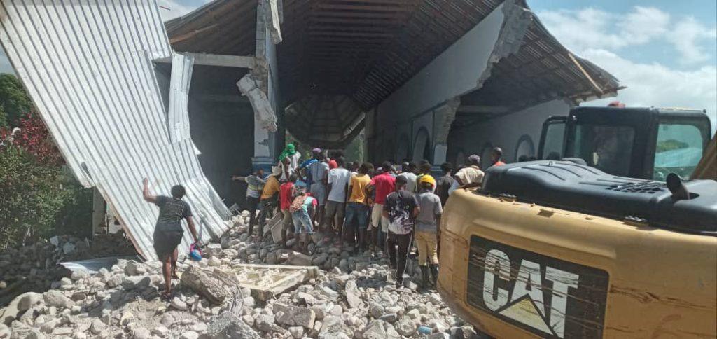 El sismo fue perceptible en casi todos los departamentos de Haití. (Foto: @teleSUR)