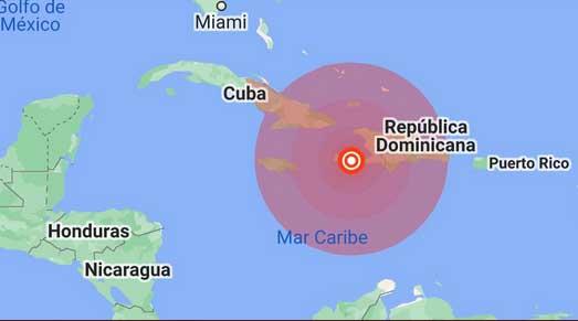 El sismo fue perceptible en casi todos los departamentos de Haití.