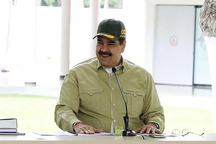 'Revisamos las estrategias, las tácticas y el despliegue permanente', aseguró el presidente. (Foto: Twitter @NicolasMaduro)