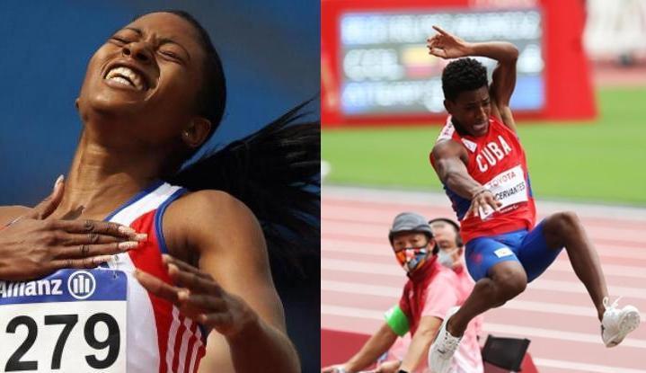 Robiel Yankiel Sol y Omara Durand: primeros oros de Cuba en Paralímpicos de Tokio (+ Fotos)