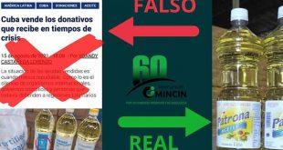 cuba, mincin, comercio interior, donaciones, fake news