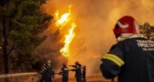 grecia, incendios, incendios forestales, deastres naturales, bomberos