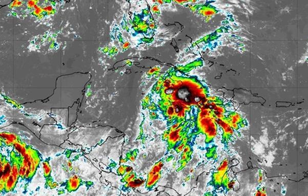 sancti spiritus, cuba, depresion tropical, lluvias, meteorologia