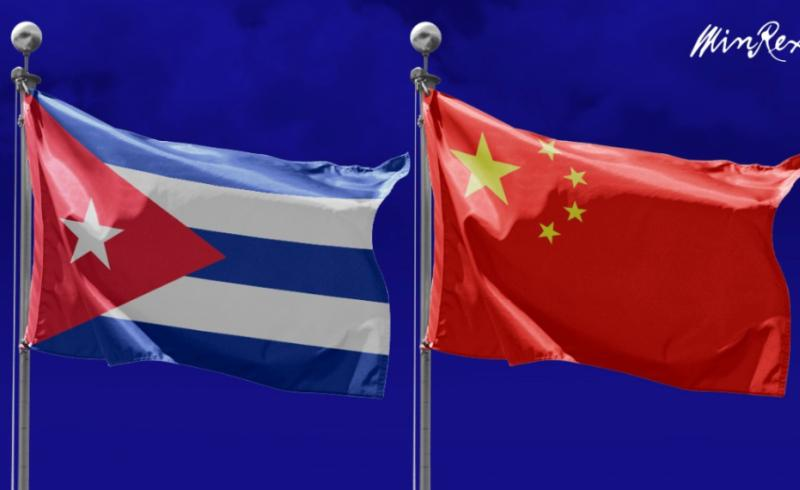 cuba, china, bloqueo de eeuu contra cuba, miguel diaz-canel, xi jinping, donaciones, solidaridad con cuba