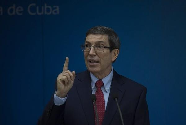 cuba, estados unidos, bruno rodriguez, canciller cubano, internet en cubam relaciones cuba-estados unidos, bloqueo de eeuu a cuba