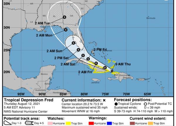 cuba, insmet, meteorologia, lluvias, tormenta tropical, fred