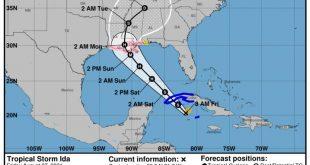 sancti spiritus, meteorologia, tormenta tropical, ida, lluvias, cuba