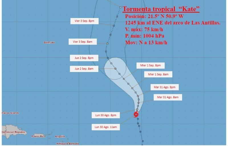cuba, meteorologia, insmet, tormenta tropical