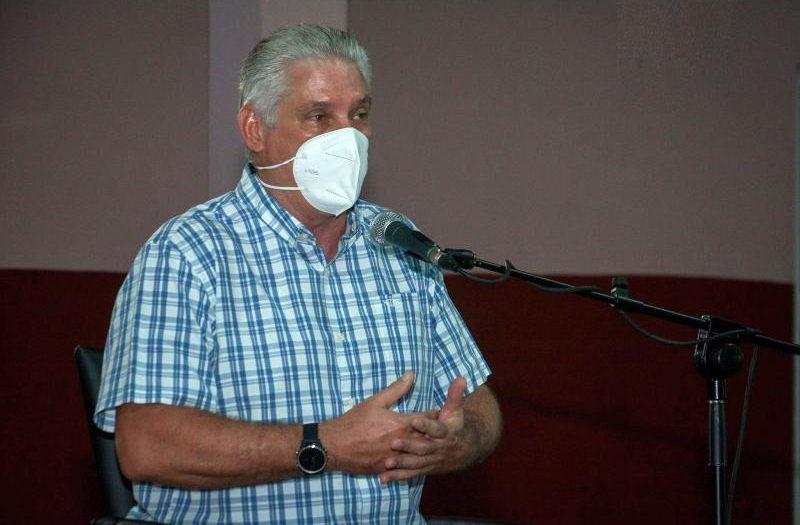 cuba, miguel diaz-canel, trabajo comunitario, gobierno cubano, trabajo social, la habana, san isidro