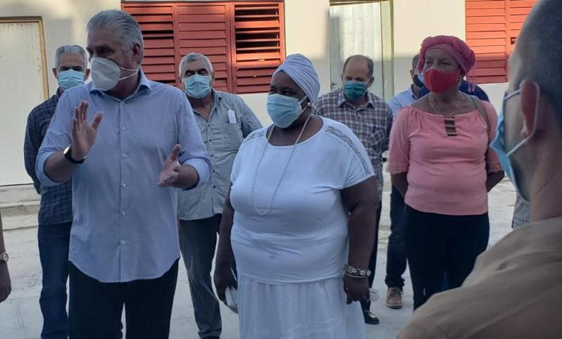 cuba, federacion de mujeres cubanas, fmc, miguel diaz-canel, covid-19, revolucion cubana