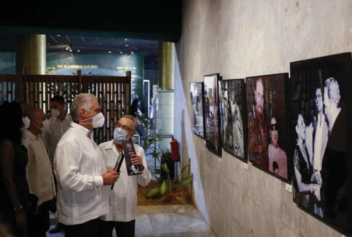 cuba, fidel castro, revolucion cubana exposicion fotografica, miguel diaz-canel, memorial jose marti