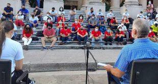 cuba, universidad de la habana, miguel diaz-canel, presidente de cuba, union de jovenes comunistas, ujc