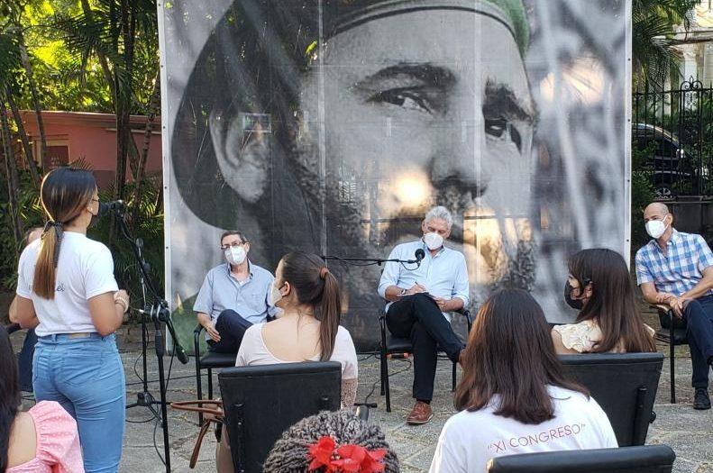 cuba, miguel diaz-canel, jovenes cubanos, instituto superior de relaciones internacionales, isri