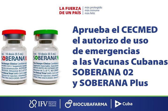 cuba, vacuna contra la covid-19, coronavirus, soberana plus, soberana 02, instituto finlay de vacunas