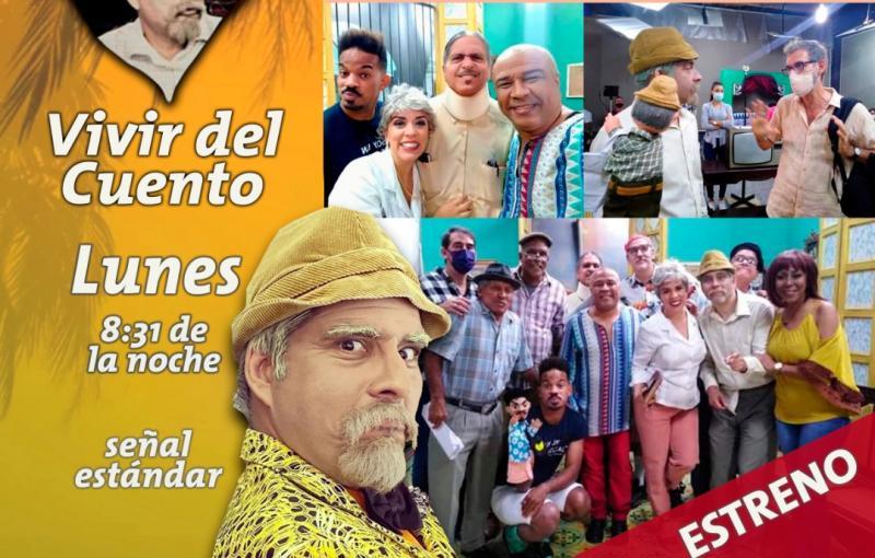 cuba, cultura, vivir del cuento, humor, critica, television cubana, progra humoristico