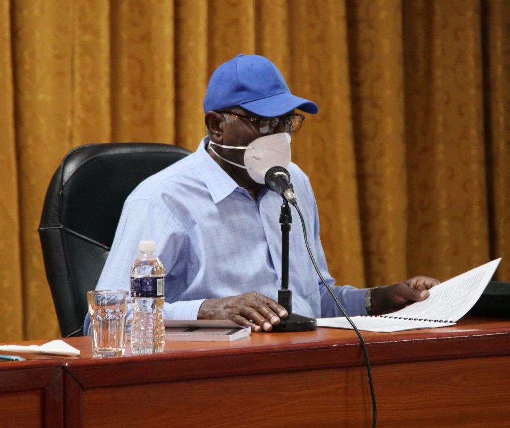 El Vicepresidente cubano instó a controlar la pandemia, lo cual pasa, dijo, por la responsabilidad personal, familiar e institucional, y por el respeto a las medidas adoptadas. (Foto: Oscar Alfonso Sosa)