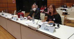 cuba, viena, parlamentos, asamblea nacional, pandemia, covid-19, solidaridad