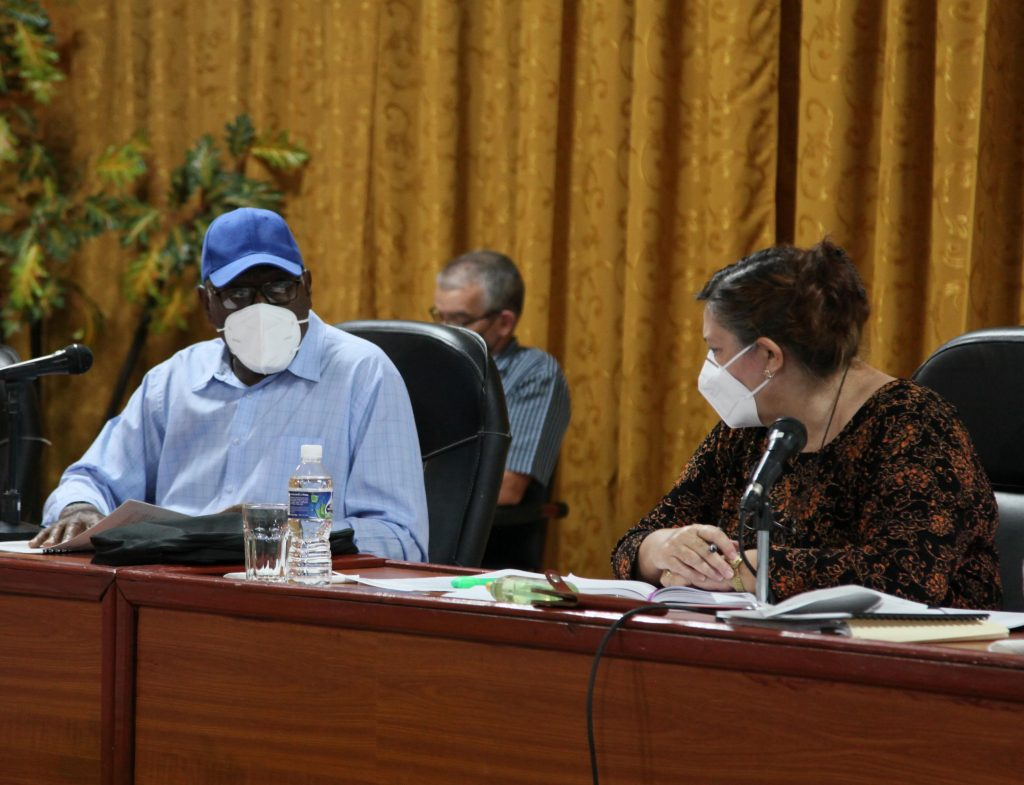 El vicepresidente cubano recordó la importancia de garantizar una buena campaña de frío. (Foto: Oscar Alfonso Sosa)