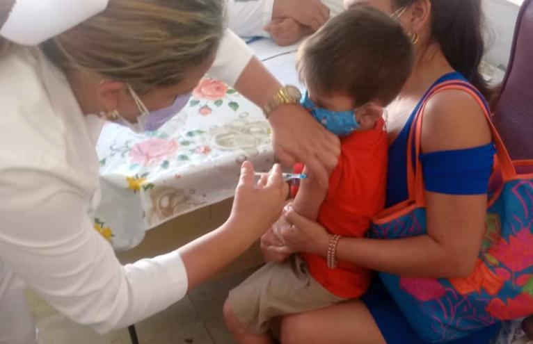sancti spiritus, vacuna contra la covid-19, soberana 02, soberana plus, niños, edad pediatrica