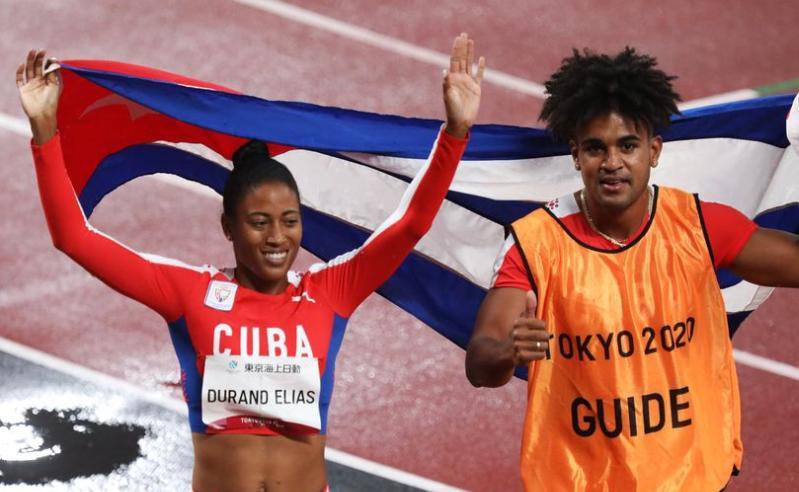 cuba, deportes, paralimpiadas, juegos paralimpicos, tokio 2020, omara durand, atletismo