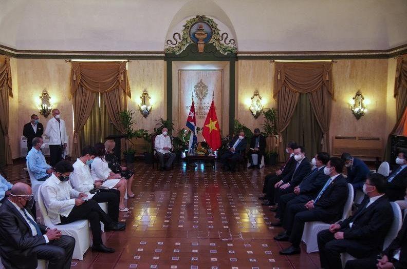 cuba, vietnam, manuel marrero, primer ministro de cuba, asamblea nacional del poder popular, esteban lazo, miguel diaz-canel, orden jose marti, mariel, zedm