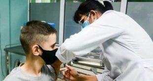 cuba, soberana 02, vacuna contra la covid-19, miguel diaz-canel, edad pediatrica, niños, adolescentes