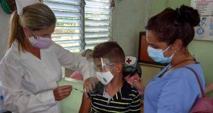 sancti spiritus, vacuna contra la covid-19, edad pediatrica, adolescentes, soberana 02, soberana plus