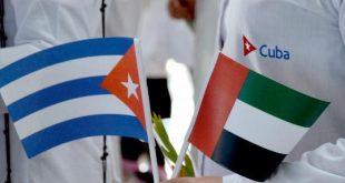cuba, solidaridad con cuba, emiratos arabes unidos, contingente henry reeve, covid-19