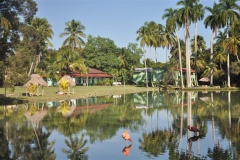 La villa se caracteriza por su singular entorno natural. (Foto: Vicente Brito / Escambray)