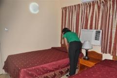 Las habitaciones mejoran su confort. (Foto: Vicente Brito / Escambray)