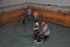 La piscina termal será remozada como parte de las inversiones. (Foto: Vicente Brito / Escambray)
